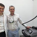 dr. Samo Gorenšek in dr. Gabor Varju