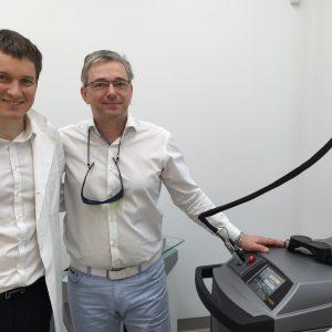 obisk dr Gabor Varju v Skin centru