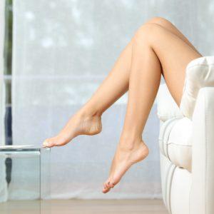 Gladke noge.