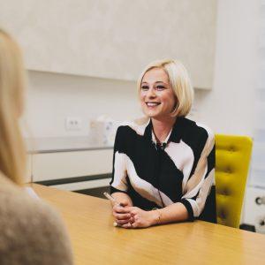 Intervju z dr. Katjo Gorenšek za Vizito.